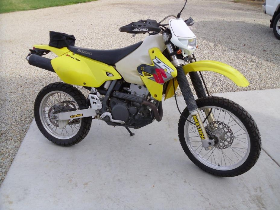 2001 Suzuki DR-Z  2001 Suzuki DRZ400 California Plated Street legal drz 400 Kawasaki klx400