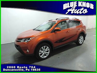 2015 Toyota RAV4 Limited 2015 Limited Used 2.5L I4 16V Automatic All-wheel Drive SUV Premium