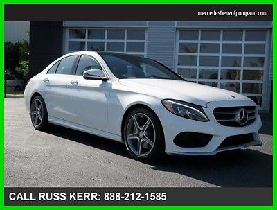 2016 Mercedes-Benz C-Class C300 2016 C300 Used Turbo 2L I4 16V Automatic Rear Wheel Drive Sedan Premium
