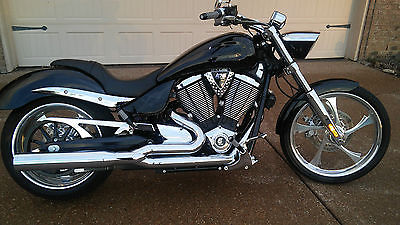 2009 Victory  Black, chrome everything one owner, never been down and always garaged