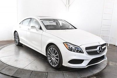 2017 Mercedes-Benz CLS-Class CLS550 2017 Mercedes-Benz CLS-Class CLS550 0 designo Diamond White Metallic 4D Sedan 4.