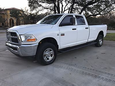 2011 Dodge Ram 3500  2011 Dodge Ram 3500 4x4 SRW Cummins Turbo Diesel CLEAN 1-Owner RUST FREE TEXAS
