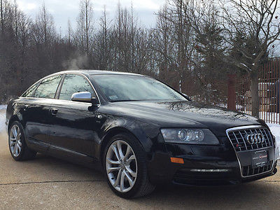 2008 Audi S6 Base Sedan 4-Door low mile free shipping warranty clean carfax 2 owner v10 financing cheap loaded