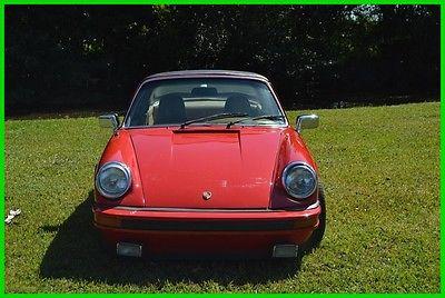 1974 Porsche 911 1974 porsche 911 s