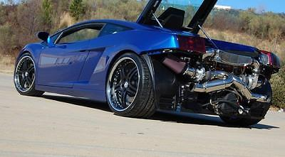 2005 Lamborghini Gallardo  2005 Lamborghini UR Twin Turbo 6-Speed Manual