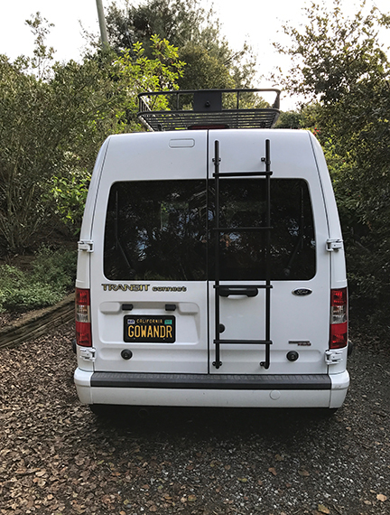 2013 Ford TRANSIT CONNECT CAMPERVAN, 1