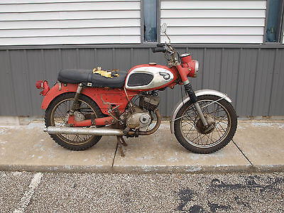 1967 Kawasaki F2  F2 Electric start Runs / shifts / stops