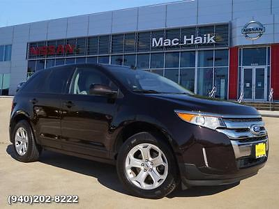 2013 Ford Edge SEL 2013 Ford Edge SEL SUV Black Automatic
