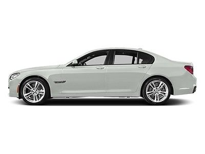 2014 BMW 7-Series 750Li 750Li 7 Series 4 dr Sedan Automatic Gasoline 4.4L 8 Cyl Alpine White