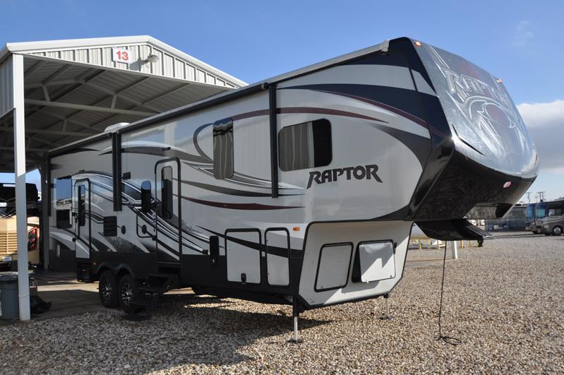 2015 Keystone Raptor 300MP W/2 Slides Toy Hauler Bun