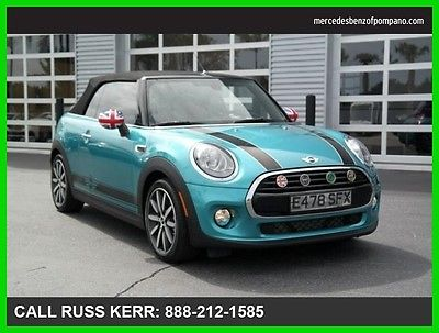 2016 Mini Other Cooper 2016 Cooper Used Turbo 1.5L I3 12V Manual Front Wheel Drive Convertible Premium