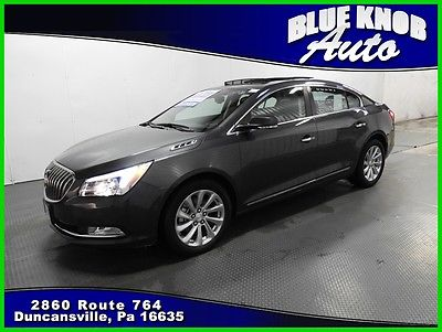 2016 Buick Lacrosse Leather 2016 Leather Used 3.6L V6 24V Automatic Front-wheel Drive Sedan OnStar