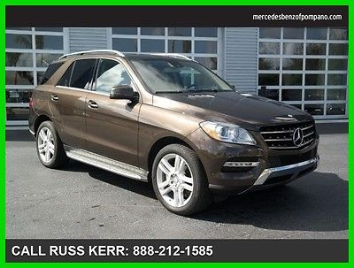 2015 Mercedes-Benz M-Class ML350 2015 ML350 Used Certified 3.5L V6 24V Automatic Rear Wheel Drive SUV LCD Premium