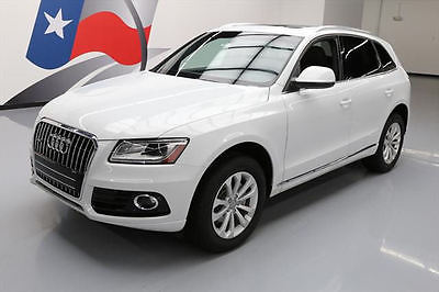 2014 Audi Q5 Premium Plus Sport Utility 4-Door 2014 AUDI Q5 2.0T QUATTRO PREM PLUS AWD PANO ROOF 36K #078326 Texas Direct Auto