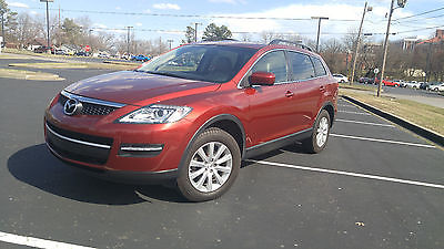 2009 Mazda CX-9 Touring Sport Utility 4-Door Mazda CX9 AWD 4x4 3rd row seats leather. three row seats all wheel drive