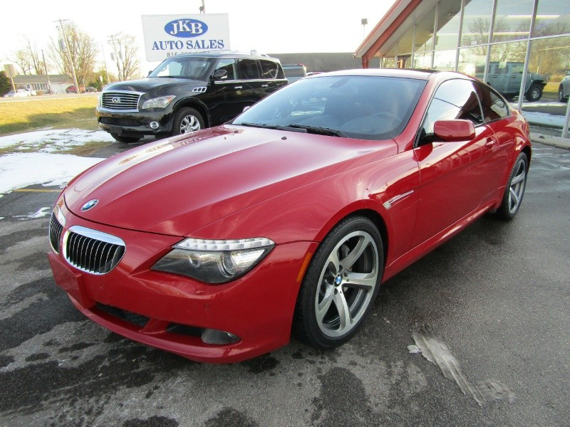 2009 BMW 6 Series 2dr Cpe 650i