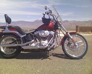 2006 Harley-Davidson Softail  HARLEY FXST SOFTAIL 2006, 13,000mls