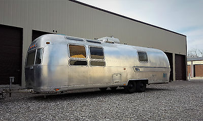 Vintage 1975 Airstream International Sovereign Travel Trailer