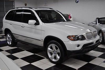 2006 BMW X5 4.4i ONLY 58K MILES - CERTIFIED CARFAX - GPS !!! 2006 BMW X5 AMAZING CONDITION - NICEST COLORS - CERTIFIED CARFAX -LOADED