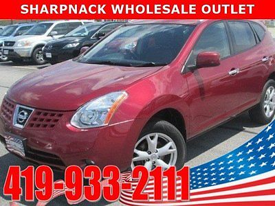 2010 Nissan Rogue SL 2010 Nissan Rogue SL 54795 Miles Red Sport Utility 4 Cylinder Engine 2.5L Automa