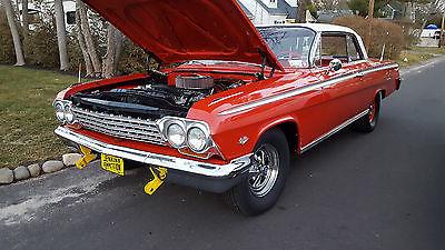 1962 Chevrolet Impala sport coupe 1962 chevrolet impala