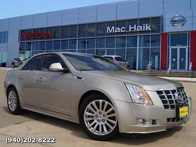 2013 Cadillac CTS Premium 2013 Cadillac CTS Sedan Premium Sedan Gold Automatic