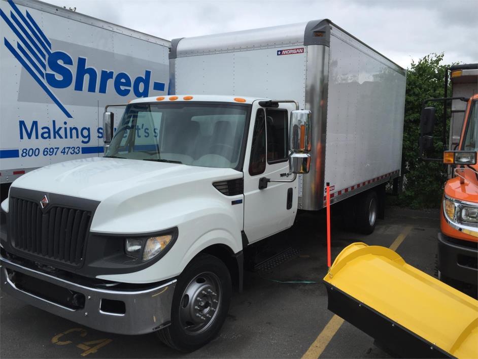 2012 International Terrastar  Box Truck - Straight Truck