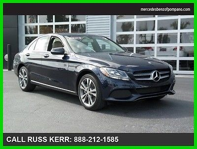 2016 Mercedes-Benz C-Class C300 4Matic AWD Keyless Blind Spot 2016 C300 Used Turbo 2L I4 16V Automatic All Wheel Drive Premium