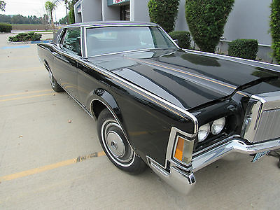 1971 Lincoln Mark Series Continental Mark III 1971 Lincoln Continental Mark III