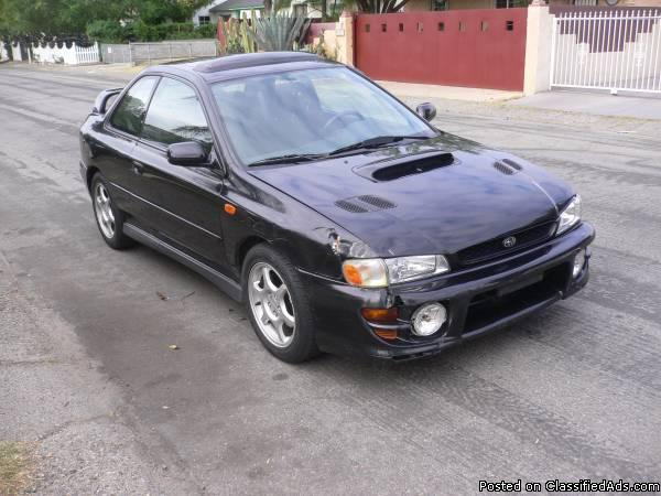 2001 subaru impreza coupe cars for sale. Black Bedroom Furniture Sets. Home Design Ideas