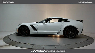 2016 Chevrolet Corvette 2dr Z06 Coupe w/1LZ 2dr Z06 Coupe w/1LZ Low Miles Manual Gasoline 6.2L 8 Cyl Arctic White