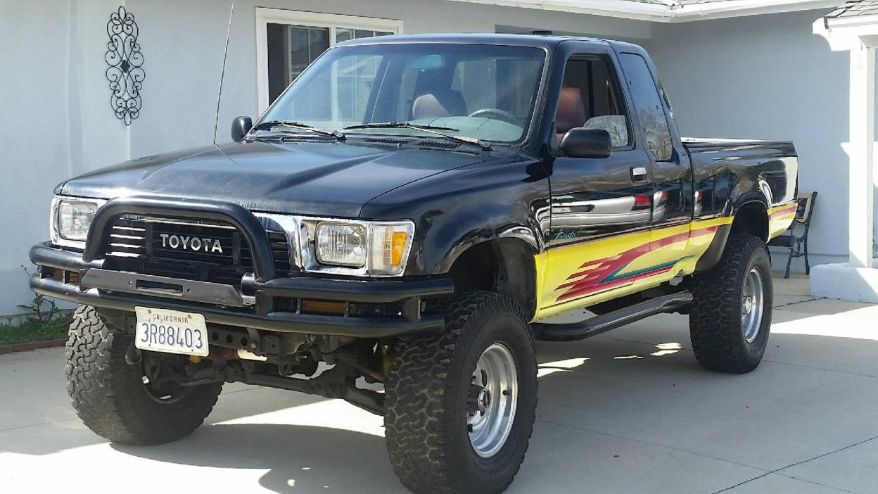1990 Toyota Pickup 4x4 Cars For Sale Engine Tacoma Xtra Cab Sr5 Truck Rebuilt