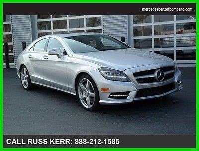 2014 Mercedes-Benz CLS-Class CLS550 2014 CLS550 Used Certified Turbo 4.7L V8 32V Automatic Rear Wheel Drive Sedan