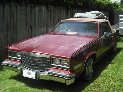 1985 Cadillac Eldorado 2 door 1985 Cadillac Eldorado Biarritz 2 door