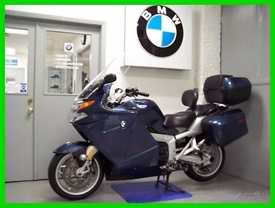BMW K 1200 GT 2007 BMW K 1200 GT Blue ABS Backrest Top Trunk Driving Lights Custom Seat 1200GT