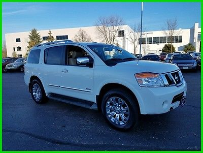2015 Nissan Armada 4WD Platinum w/ 2nd Row Captain Seats Heated Seats and Steering Wheel Power Gate Chrome 20