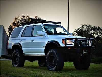 2002 Toyota 4Runner SR5 2002 TOYOTA 4RUNNER 4X4 SR5 LIFTED BUILT TACOMA JEEP TRD SUV RESERVE NO RUST RIG