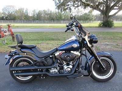 Softail FATBOY, FLSTF, FLSTB, SOFTAIL, 2012 Harley-Davidson FAT BOY LOW, MURDERED OUT, CUSTOM SEAT, W/S,B/R,SWEET