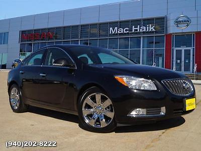 2013 Buick Regal Turbo Premium 1 2013 Buick Regal Turbo Premium 1 Sedan Black Automatic