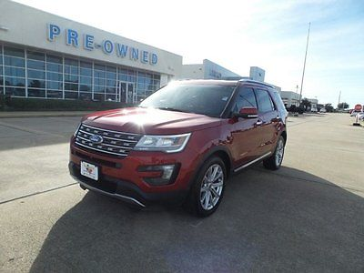 2016 Ford Explorer Limited FWD Front & Rear Cam 2016 Ford Explorer
