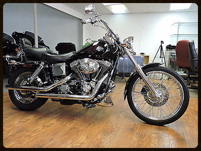 2004 Harley-Davidson Dyna  2004 Harley Davidson Dyna Wide Glide   Black with factory burg, tribal flames!