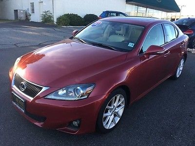 2013 Lexus IS -- 2013 Lexus IS 350 Automatic 48658 Miles Sedan Matador Red Mica 3.5L 24-Valve DI