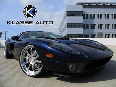 2005 Ford Ford GT Base Coupe 2-Door 2005 Ford GT 1000HP Hennessey Manual 2-Door Coupe Low Miles Celebrity Owned Wow