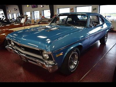 1971 Chevrolet Nova -- 1971 Chevrolet Nova SS  0 Miles blue  350 4 Speed Manual