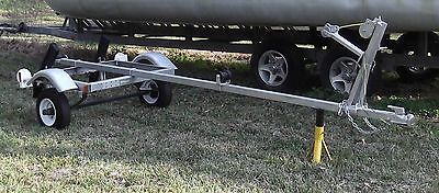 10 foot Gator Brand Galvanized Boat Trailer