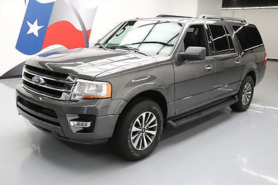2016 Ford Expedition  2016 FORD EXPEDITION XLT EL ECOBOOST LEATHER NAV 23K MI #F23761 Texas Direct