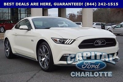 2015 Ford Mustang GT 50 Years Limited Edition Coupe 2-Door 2015 FORD MUSTANG GT 50 YEAR LIMITED EDITION #1387 OF 1964 CLEAN CAR FAX 1 OWNER