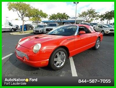 2003 Ford Thunderbird Ford Thunderbird 2003 Ford Thunderbird Used 3.9L V8 32V Automatic Rear Wheel Drive Premium