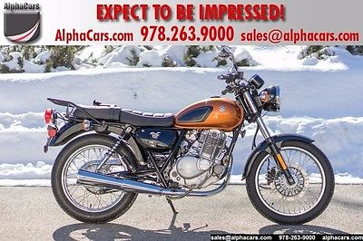 2016 Suzuki TU250 X  All Original Low Mileage Pristine Condition Financing & Trades