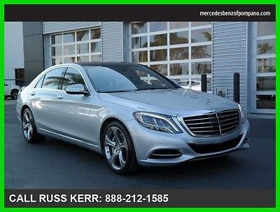 2015 Mercedes-Benz S-Class S550 2015 S550 Used Certified Turbo 4.7L V8 32V Automatic All Wheel Drive Sedan